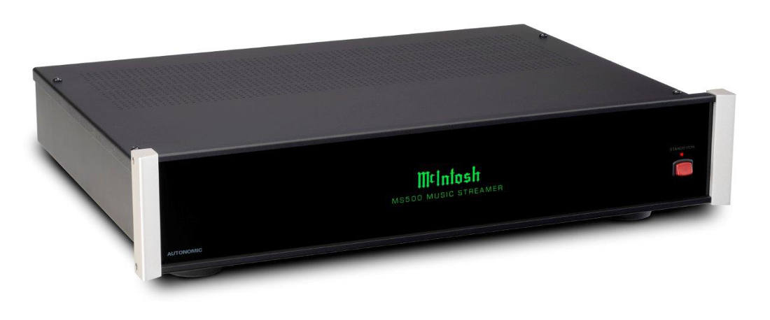McIntosh Rolls Out New MS500 Music Streamer, MCD600 CD/SACD