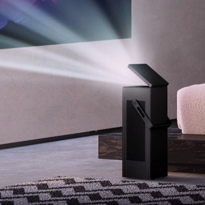LG's HU80KA 4K UHD projector goes anywhere