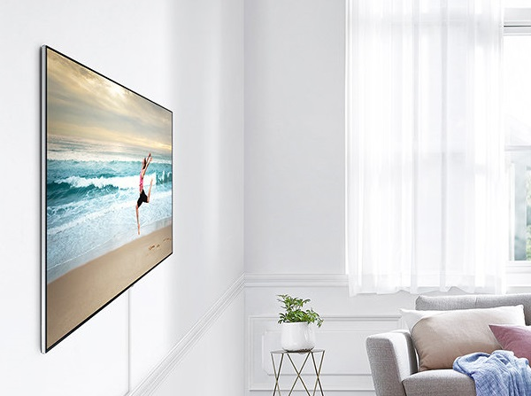 Samsung, The Wall, MicroLED tv, TV display, self-emitting technology