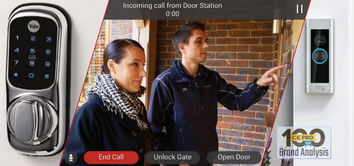 Smart-Home Pros Love Ring Doorbells, but Doorbird Surges - CE Pro 100 Brand Analysis