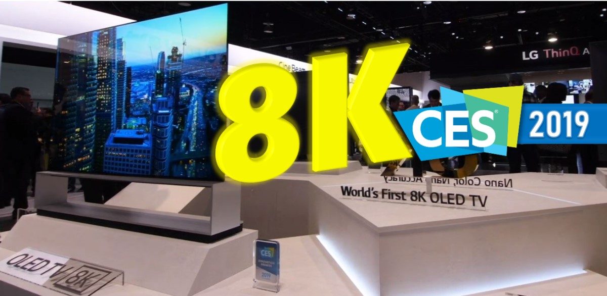 8K TV Roundup: CES 2019 in 90 Seconds