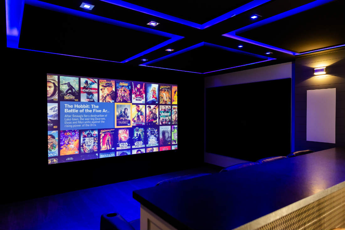 Renovated Sound Effects Showroom Has a Home Theater Worth Flying to See