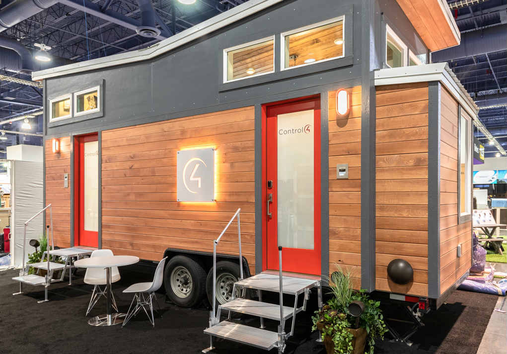 Control4 Tiny Home Packs Smart Controls Into 250 Square-Feet