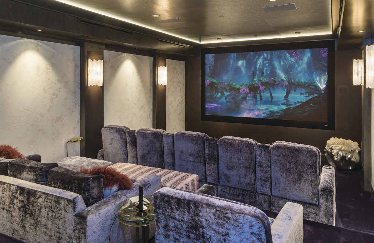Savant and Dolby Atmos Turn Flooded Basement into Stunning Home Theater
