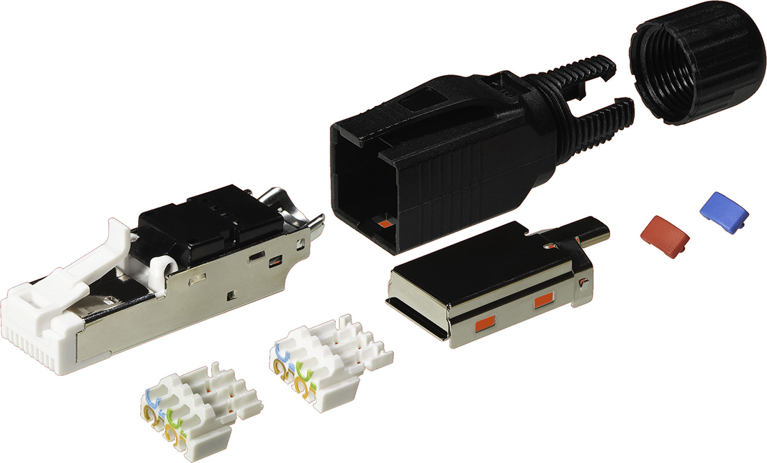 Kordz One Series RJ45 Connectors Expedite Cable Termination Process