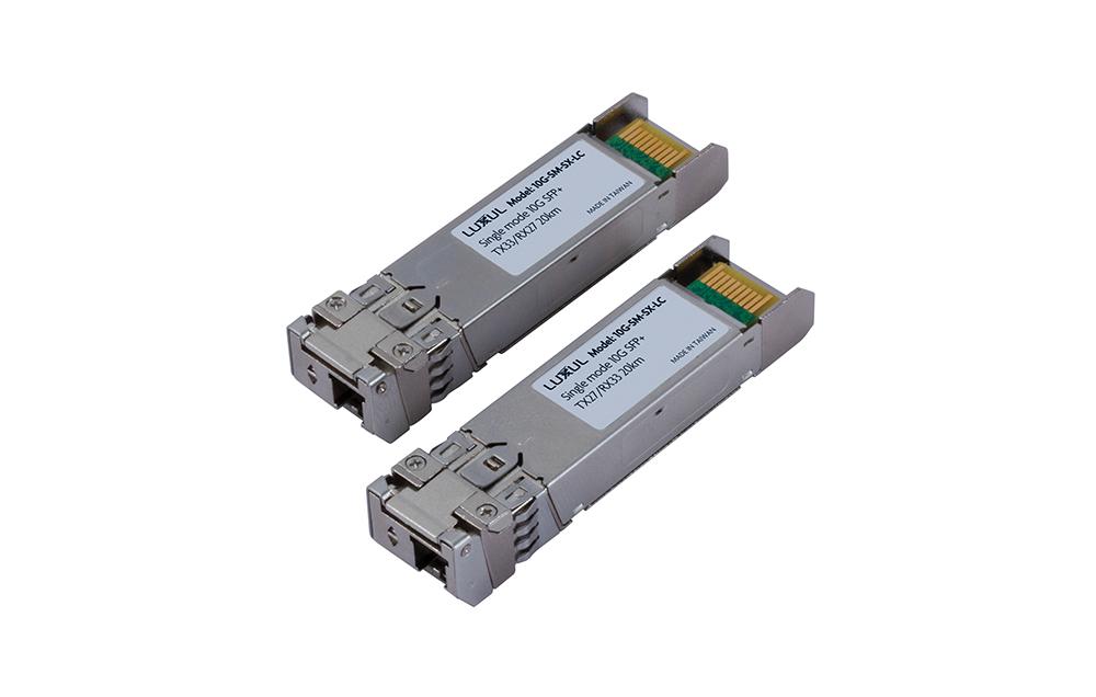 Luxul 1GB SFP, 10GB SFP+ Fiber Modules Now Available