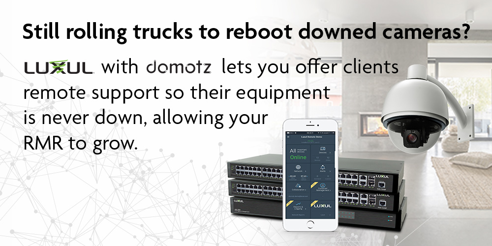 Introducing Luxul's Domotz Pro Remote Management System
