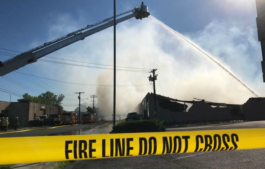 MSE Audio's Soundsphere Affected by Structure Fire