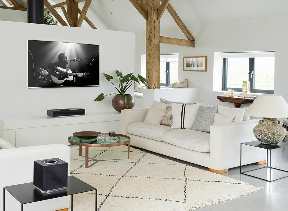 Naim Audio Mu-so Qb2 System Delivers Wireless High Performance Audio Throughout a Home
