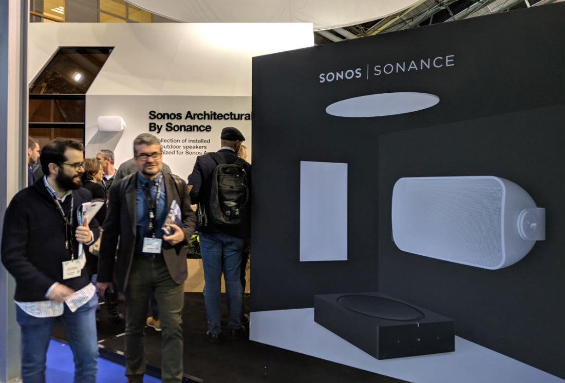 Sonos and Sonance Announce Pricing, Features for Indoor and Outdoor Speakers