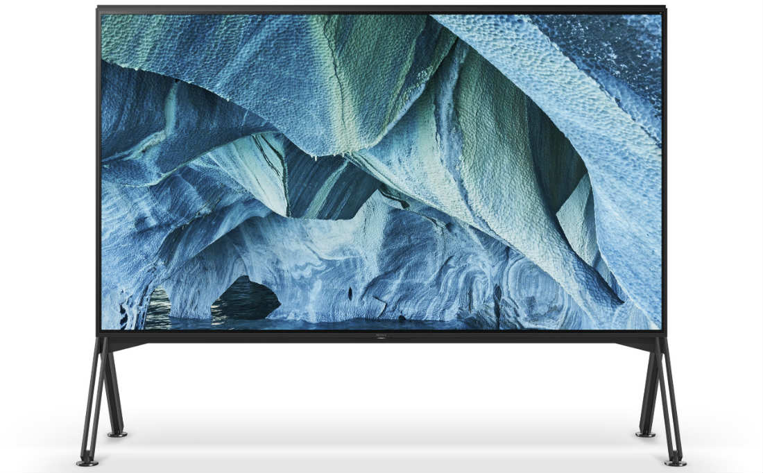 Sony Announces Super-Large, MASTER Series 8K TV at CES 2019