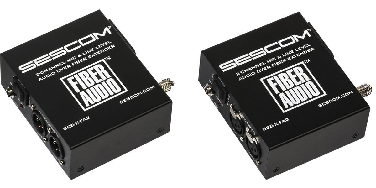Sescom Introduces 2nd Generation Fiber Audio Converter