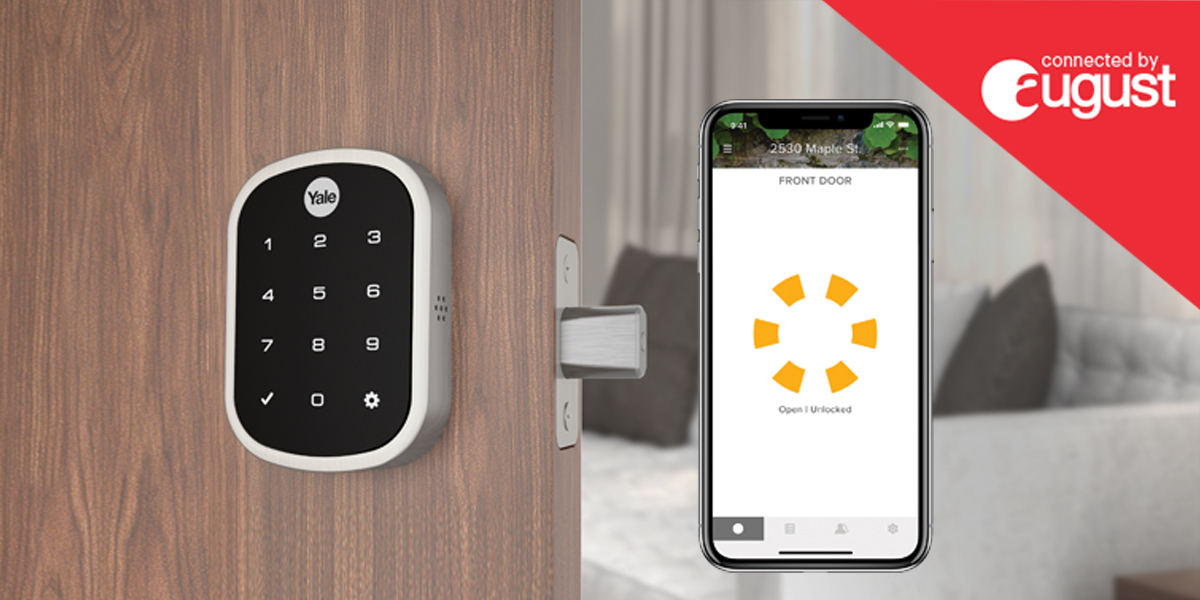 The Smart Lock You've Been Looking For, From The Brand That's Been Trusted Since 1840