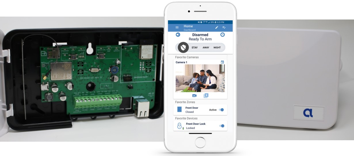 Alula BAT-Connect Adds Cellular, IP, Home Automation to Ordinary Security Panels