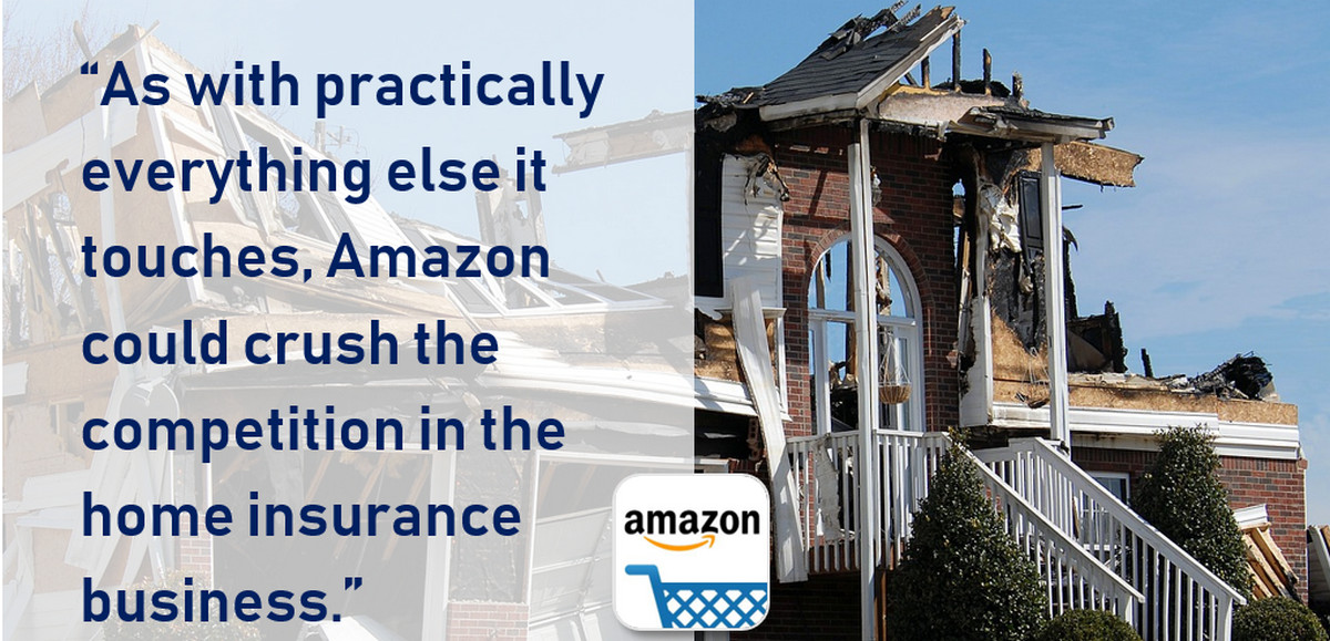 If Amazon Sells Homeowners Insurance with Security and IoT, Game Over?