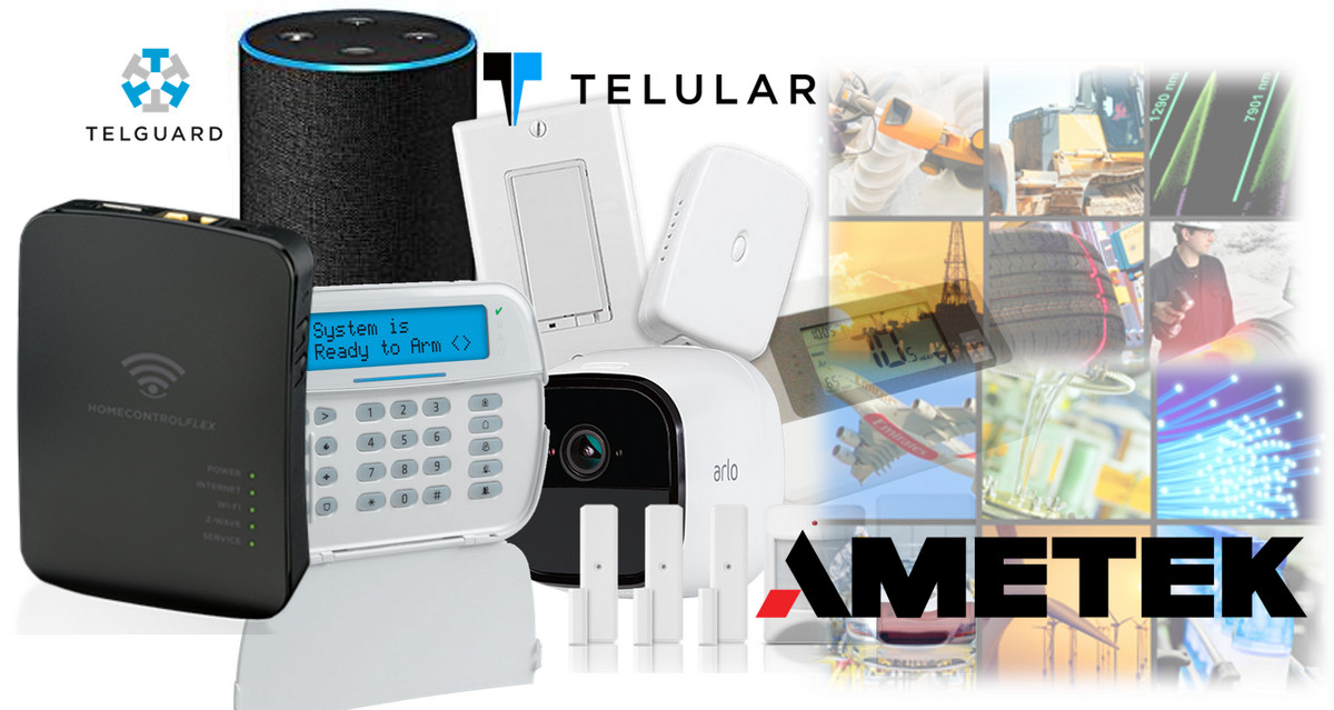 Instruments Giant Ametek Nabs Alarm.com Competitor Telguard with Acquisition of Parent Co. Telular