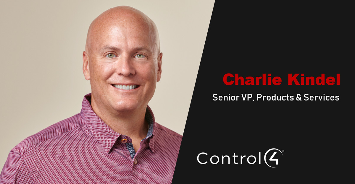 Control4 Hires Charlie Kindel, Amazon Alexa Smart Home Mastermind