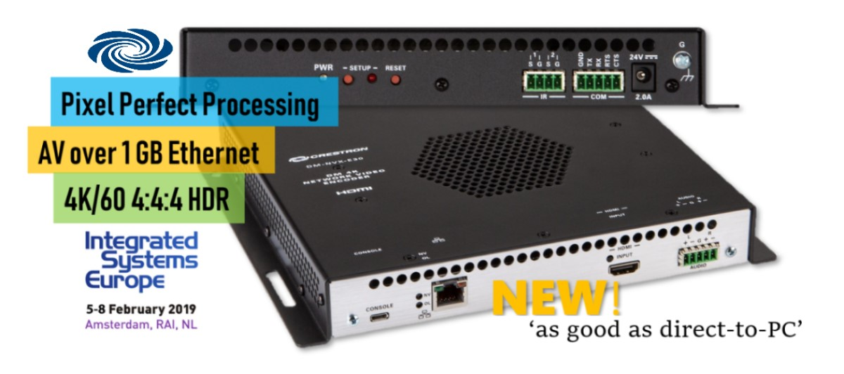 Crestron 'Perfects' 1GB AV-over-IP, Bows First DM NVX for Residential