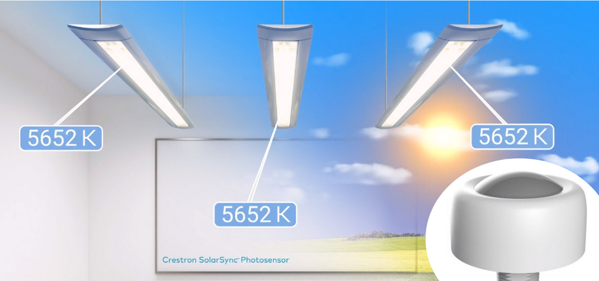 Demo: Crestron's New SolarSync Daylight Sensor Automates Lighting to Simulate the Outdoors