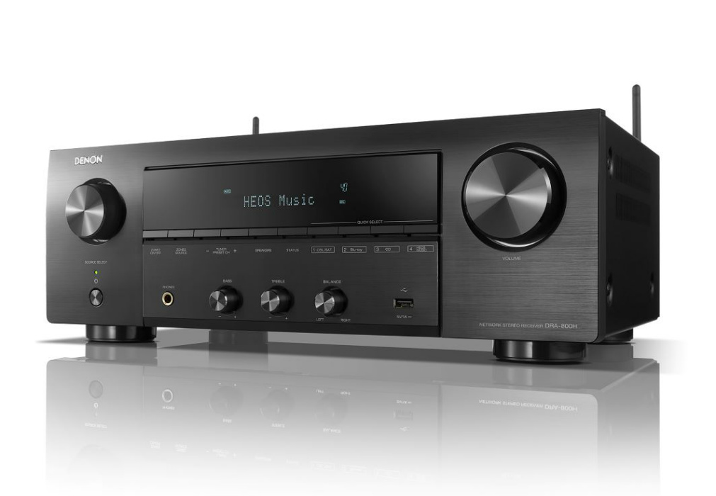 $499 Denon Stereo Receiver Features 4K HDMI, Wireless Streaming