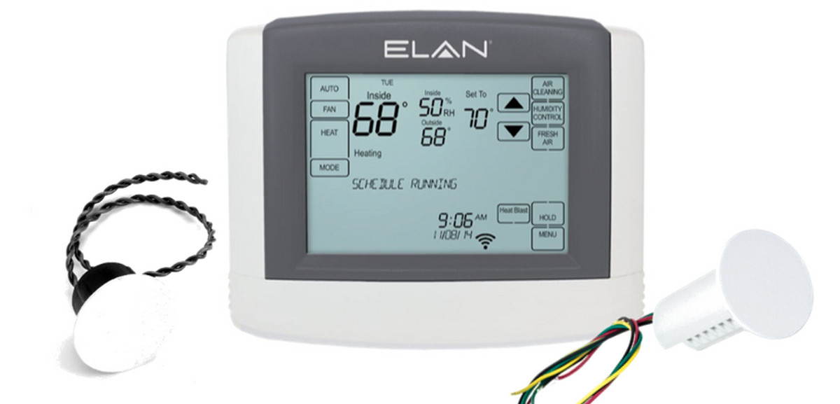 Elan Adds Remote Temperature Sensors To Smart