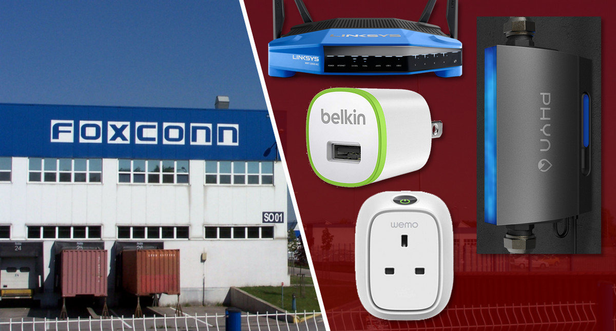 Eyeing Smart-Home and IoT, Foxconn Acquires Linksys, Belkin, Wemo and Phyn Brands