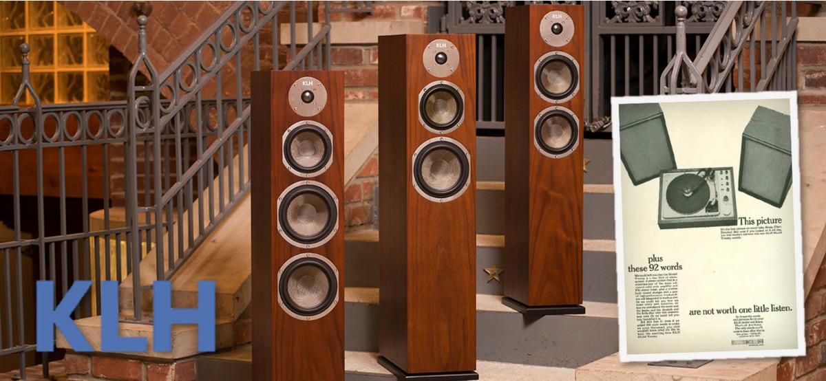 Henry Kloss's Iconic KLH Loudspeaker Brand Returns Re-Energized