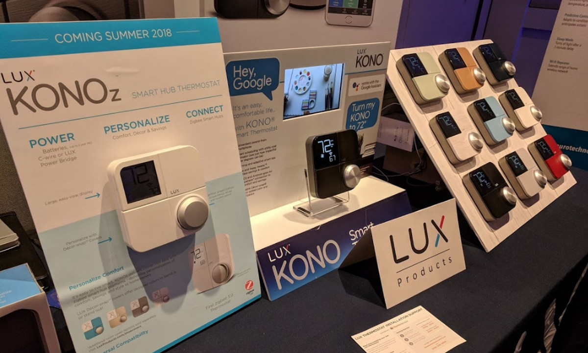 First ZigBee 3.0 Thermostat Debuts from Lux ... and it's Pretty Cool