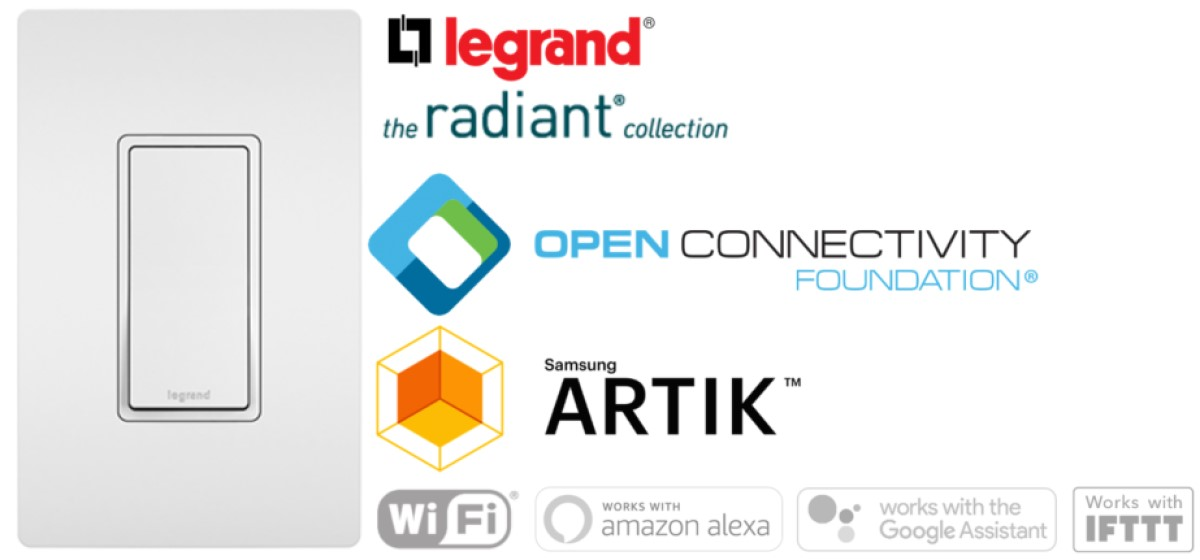 Legrand's Radiant Collection is First-Ever OCF-Certified Smart Lighting
