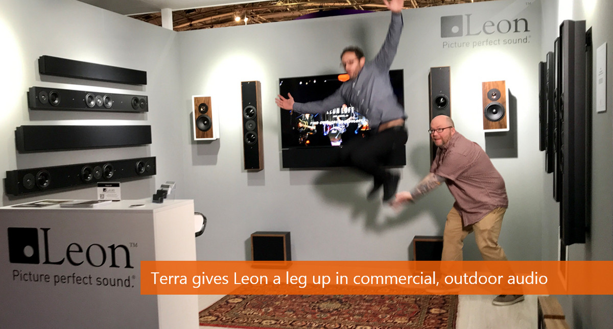 Leon Speakers Acquires Terra Speakers – Boosts Commercial, Outdoor and Lighting Products