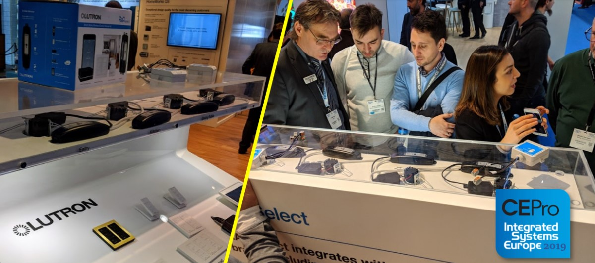 Lutron Mob Scene at ISE 2019: Europeans Finally Get their RadioRA