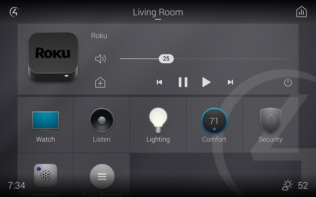 Hands-On: Control4 Smart Home OS 3 Kills 'Circle of Power' GUI - CE Pro