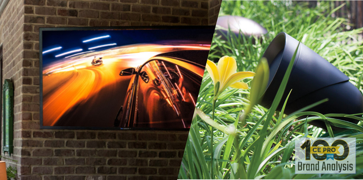 Sonance, SunBrite Top Outdoor A/V Brands Among Pros - CE Pro 100 Brand Analysis