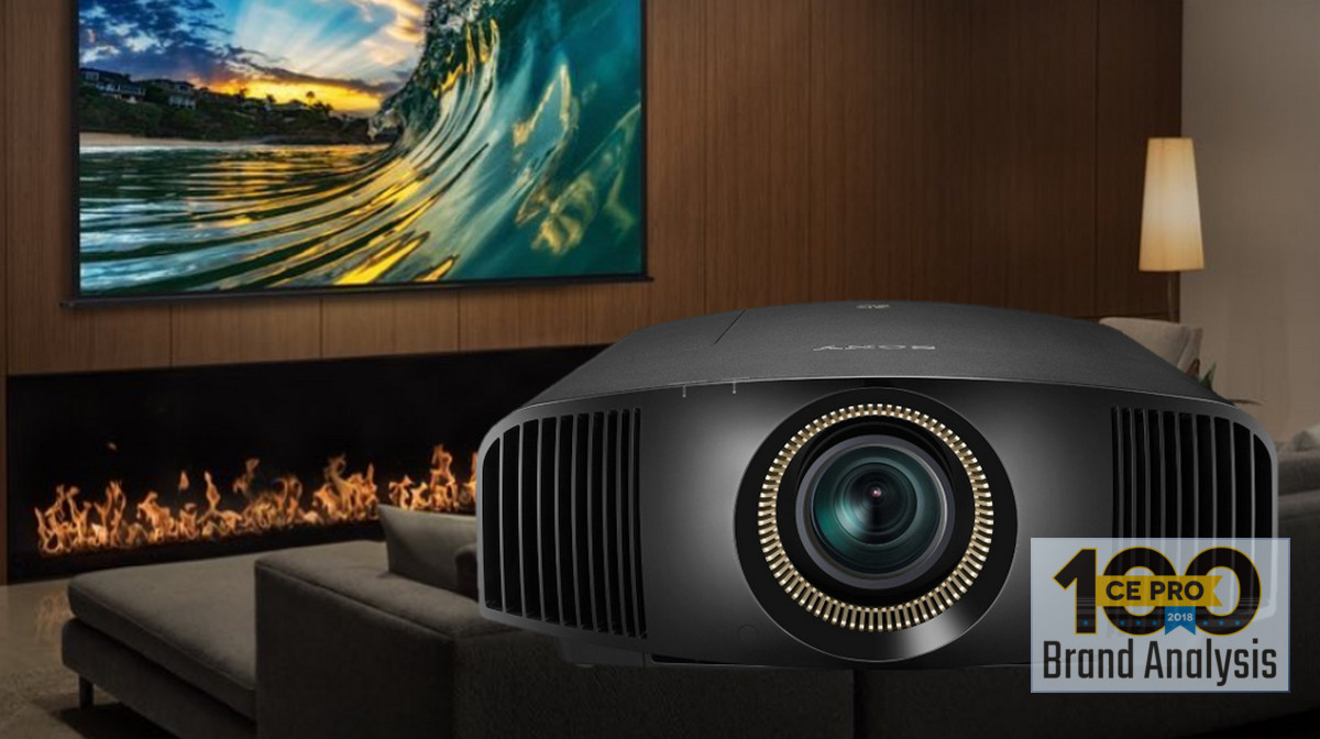Pros Still Prefer Sony Projectors, but Barco Breaks into Top 5 - CE Pro 100 Brand Analysis