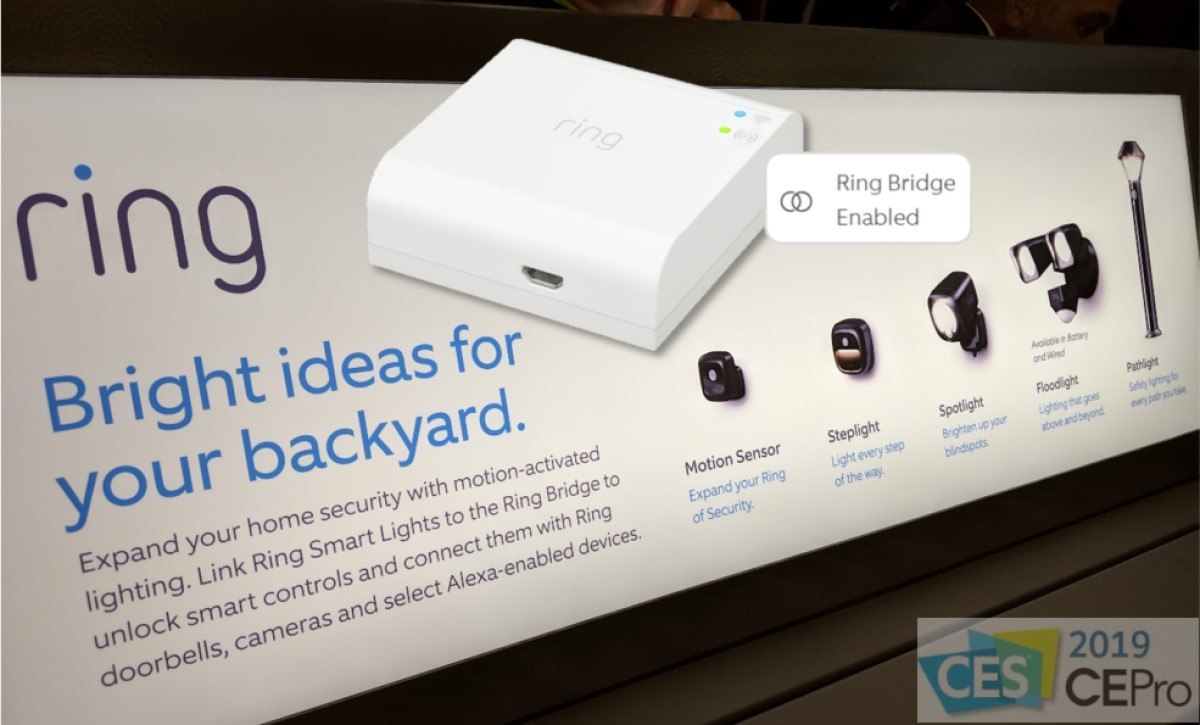 Why Ring Acquired Mr. Beams: New Ring Smart Lighting System at CES 2019