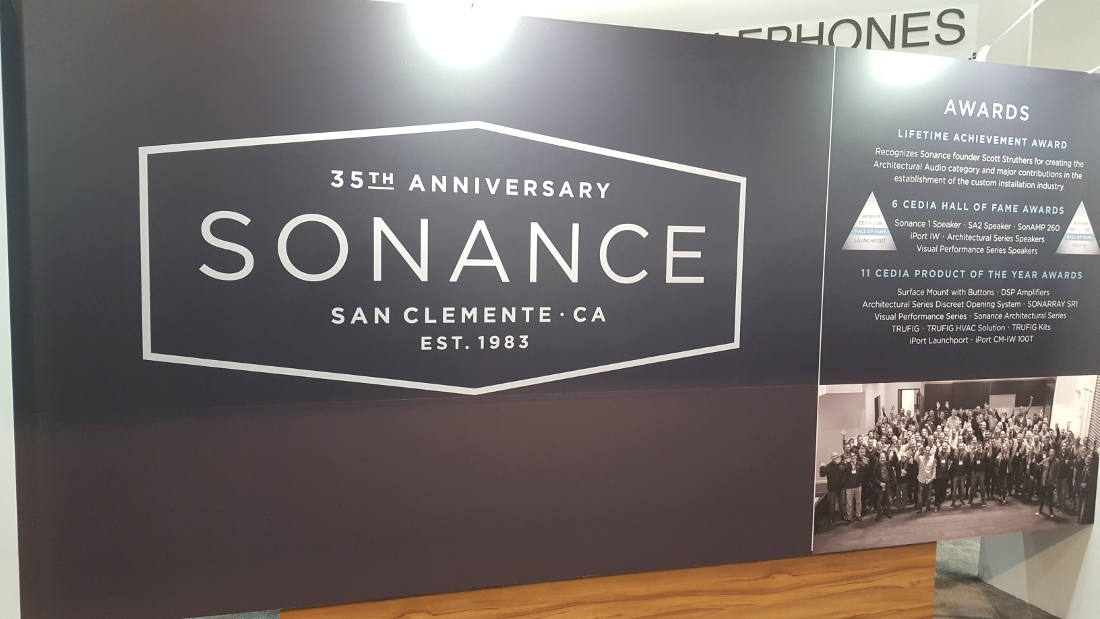 Sonance Celebrates 35 Years with More Architectural Speaker Innovation