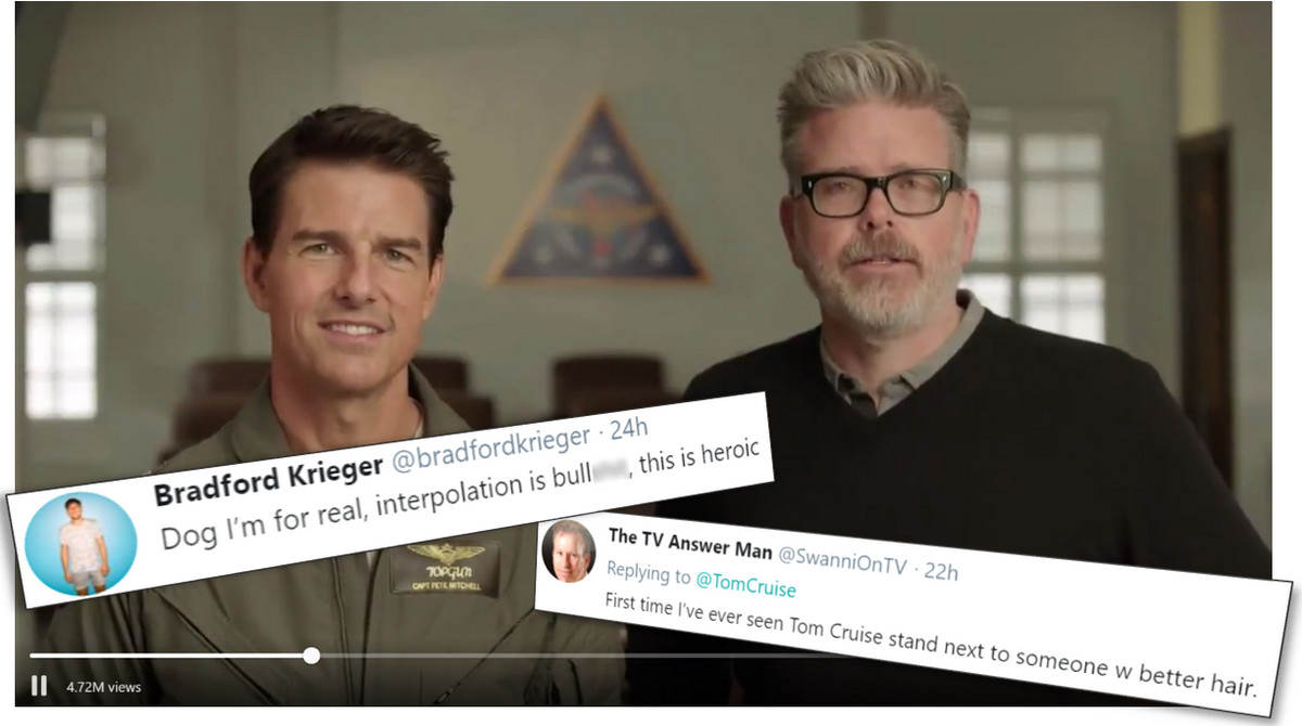 Tom Cruise PSA: Turn off HDTV Motion Smoothing, Avoid 'Soap-Opera Effect'