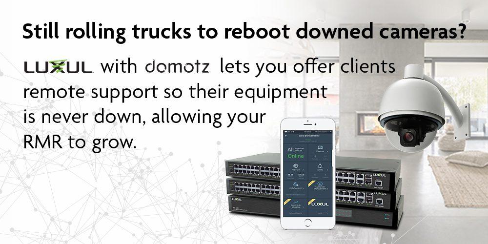 Introducing Luxul's Domotz Pro Remote Management System