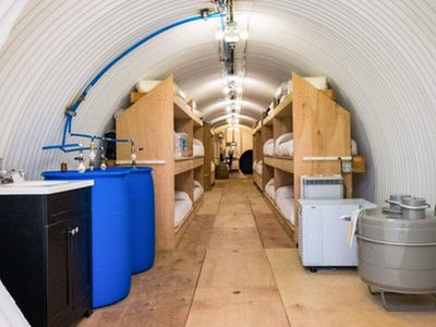 For Sale: $2.8 Million Doomsday Ranch with 'First Class' Survival Space for 22 Guests