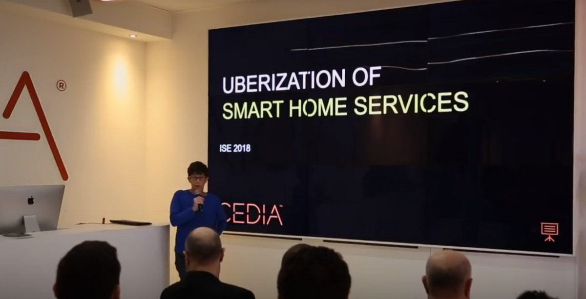 The Uberization of Smart Home Services: Julie Jacobson's 'CEDIA Talk' at ISE 2018