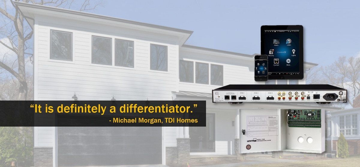 Custom Home Builder: Differentiate with Smart-Home Tech, But Keep it Simple