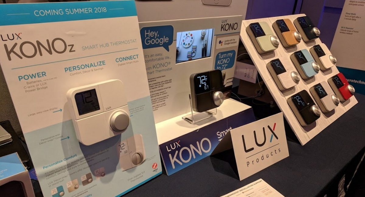 First ZigBee 3.0 Thermostat Debuts from Lux … and it's Pretty Cool