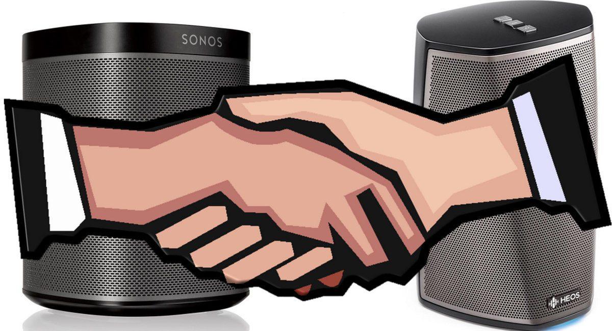 Sonos, Sound United Settle Lawsuits on Denon HEOS