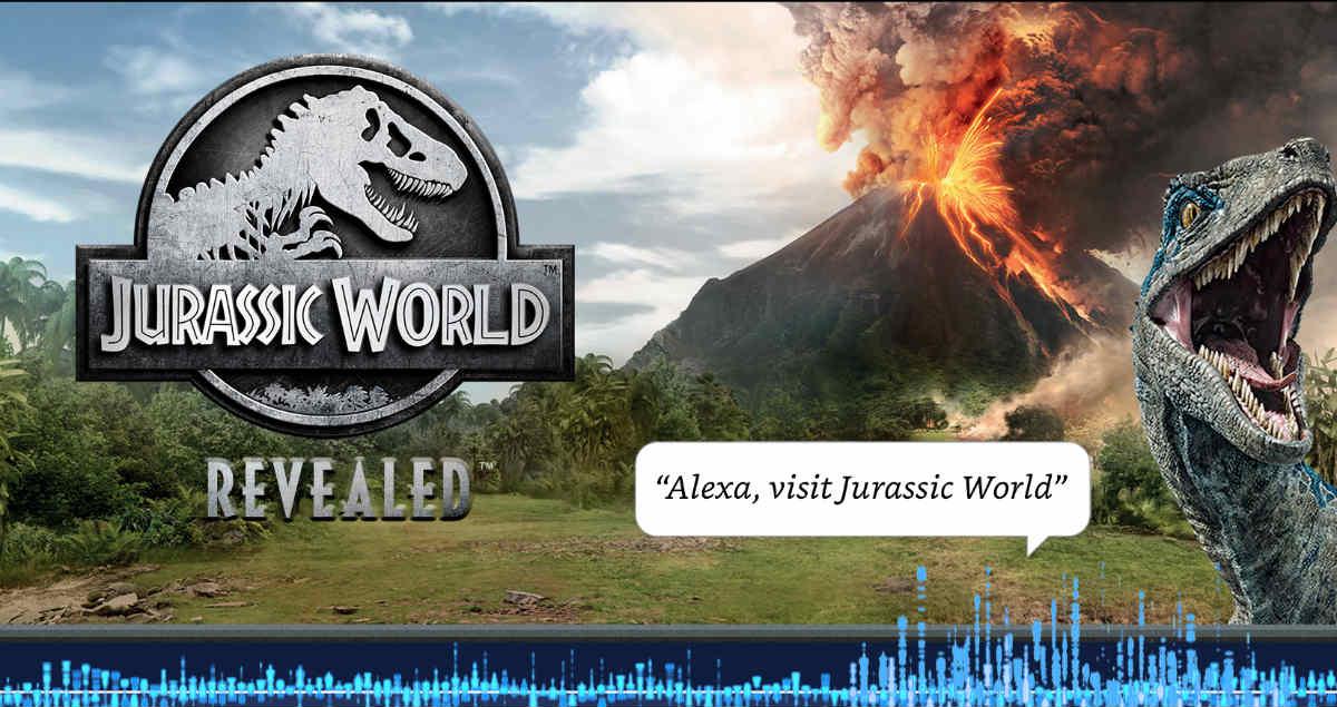 Amazon Alexa's 'Jurassic World Revealed' Brings Voice Control to Gaming