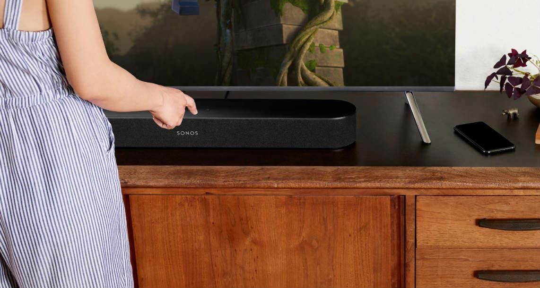 Sonos Beam Soundbar is Full of Firsts: AirPlay 2, Siri, HDMI, but No Atmos