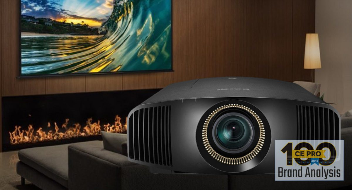 Pros Still Prefer Sony Projectors, but Barco Breaks into Top 5 – CE Pro 100 Brand Analysis