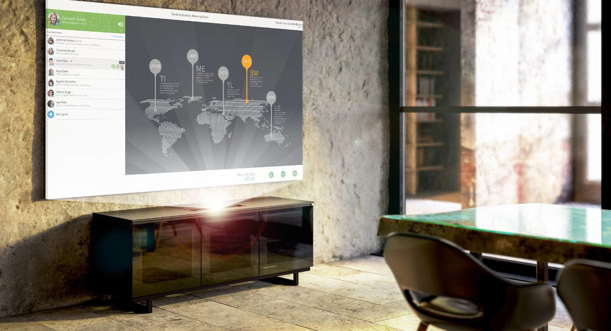 Salamander Debuts Stylized Ultra-Short-Throw Projector Cabinet