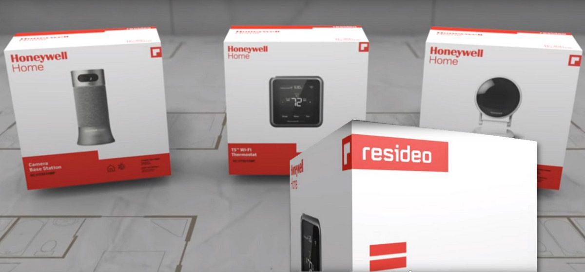 New Name for Honeywell Home Automation and Security After Spinoff: Resideo