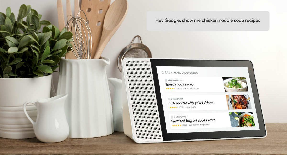 Get Ready for Google Assistant Smart Displays, Starting with Lenovo