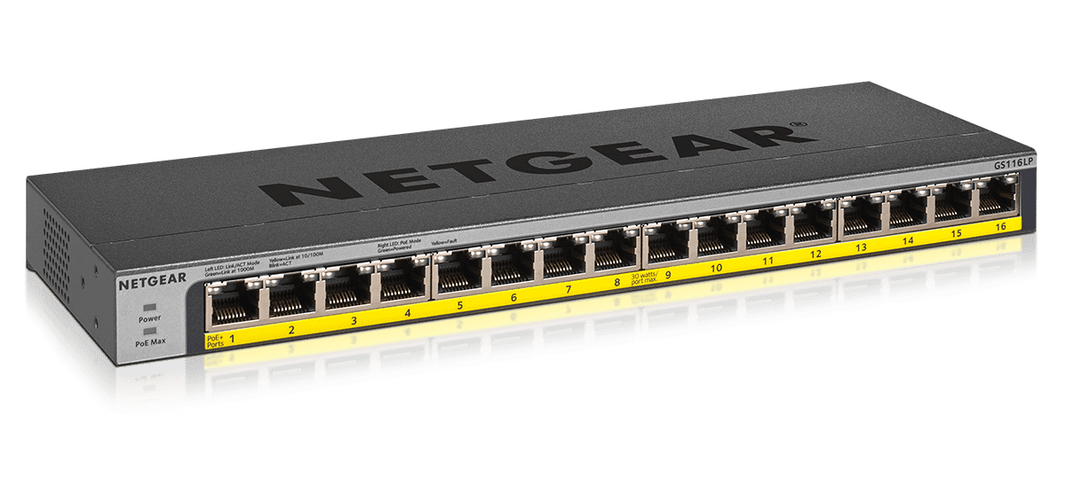 Netgear Unmanaged Switches Minimize Network Investments